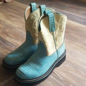 Ariat fat baby boots 8